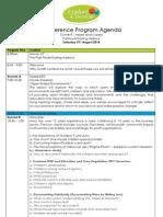 conference program 2013