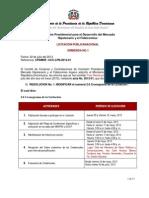 Enmienda No.1 Ciudad Juan Bosch