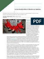 Un consenso inédito (en teoría) sobre el aborto en América Latina | Sociedad | EL PAÍS