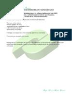 Operación de sistema operativo multiusuario