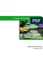 Trade in Bangladesh 2013 Sponsor Proposal