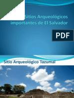 Sitios Arqueológicos importantes de El Salvador
