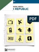 Czech Republic - Mapping Digital Media Report