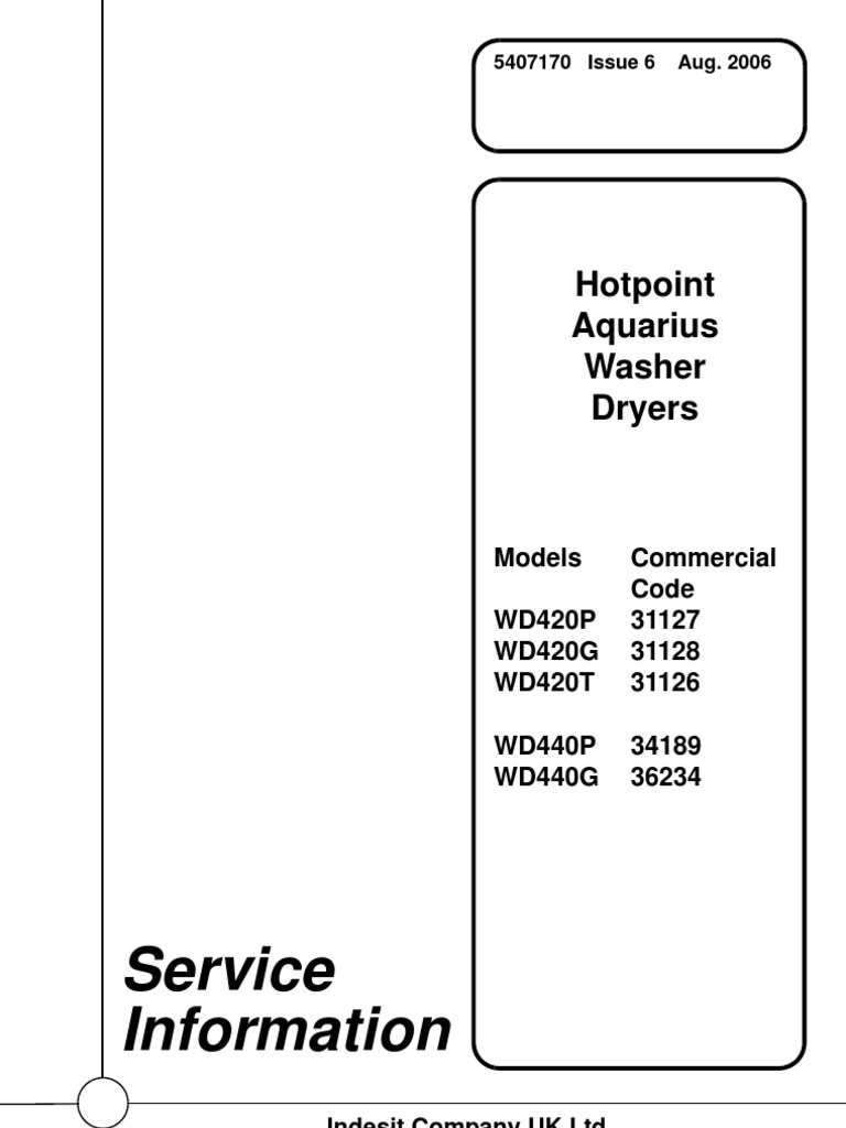 Wd420 Washer Drier Ac Power Plugs And Sockets Flash Memory Indesit Washing Machine Motor Wiring Diagram