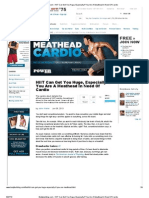 HIIT Can Get You Huge Especially if You Are a Meathead in Need of Cardio