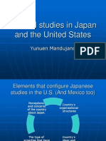 Cultural Studies in Japan and the United States