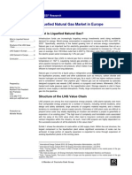 Liquified Natural Gas Market in Europe 2011