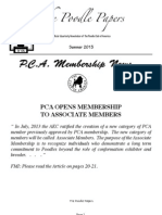 PCA Summer 2013 Newsletter