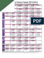 KKDC 2013 Schedule