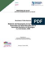 FESP Informe Resultados Medicion Nicaragua 2008