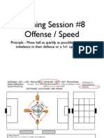 Training Session 8 - Offense