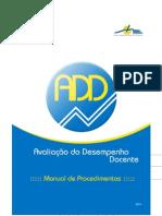 ADD - Manual de Procedimentos