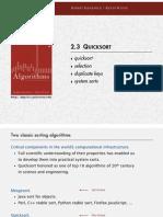 Quicksort Coursenotes