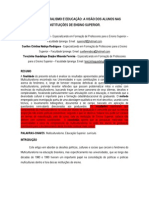 A COMPREENSÃO DO MULTICULTURALISMO NA VISÃO DOS ALUNOS DE GRADUAÇÃO (Salvo Automaticamente)