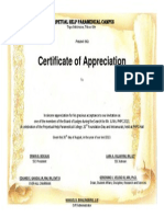 Certificate for Board of Judges