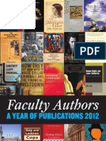 John Jay Faculty Publications 2013