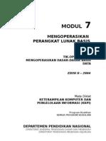 Modul 7 KKPI Mengoperasikan Perangkat Lunak Basis Data