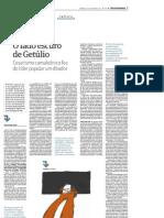 """""""O lado escuro de Getúlio"""", por Otavio Frias Filho"""