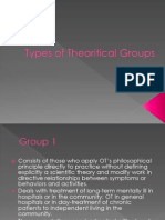 OT7 - Types of Theoretical Groups