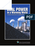 Coal Power in a Warming World