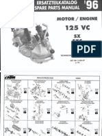 Motore Ktm Exc 125