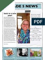 Class Newsletter August 2013