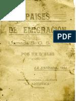 Los Paises de la emigracion