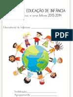 Registos de Educação de Infância 13-14 Bloguefólio