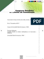 livro - programação intercom 2013 - Manaus/AM