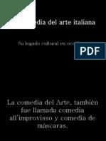 La Comedia Del Arte Italiana