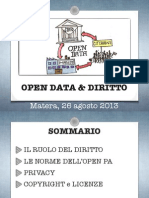 Open Data e Diritto