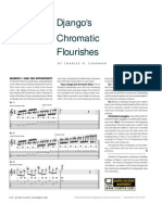 Djangos Chromatic Flourishes