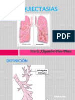bronquiectasias NEUMOLOGO