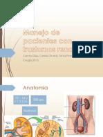 Atención odontológica del paciente con IR