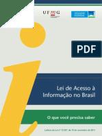 Cartilha da Lei de Acesso à Informação no Brasil