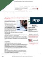 Monografie Contabila Privind Transportul de Marfa La o Firma de Curierat - Articole Conta