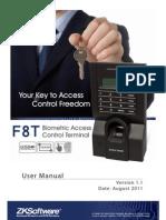 F8T User Manual