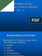 Examination of Eye Pt II