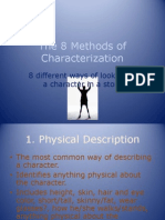 The 8 Methods of Characterization Powerpoint 1216839817868468 9