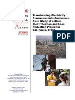 Slum Electrification and Loss Reduction Brazil Case Study