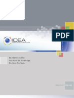 Idea Product Brochure