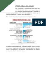 Gobierno rePRESUPUESYO 2013