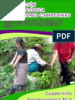 Cuadernillo Nº4 Producción agroecológica con mujeres campesinas