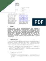 Economia General I (Todas Las Secciones) 2011-II[1]