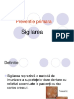 Curs Platforma SIGILARE, Preventie Secundara