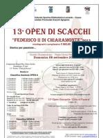 XIII Open Favara Manifesto 2013