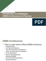 Database Architectures