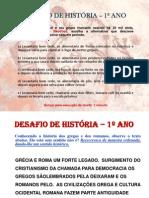 DESAFIOS DE HISTÓRIA - SHOW DO AULÃO GAMES