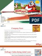 Kelloggs marketing report