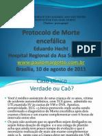 Morte Encefalica Protocolo
